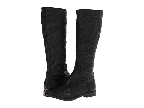 Frye - Anna Inside Zip (Black Antique Soft Vintage) Cowboy Boots