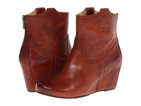 3a593207fc3 ... UPC 887874079444 product image for Frye Carson Wedge Bootie (Cognac  Antique Soft Full Grain) ...