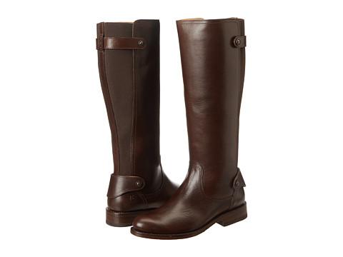 Frye - Jayden Gore (Dark Brown Soft Vintage Leather) Cowboy Boots