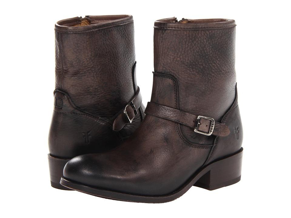 Frye - Lynn Strap Short (Grey Soft Antique) Cowboy Boots