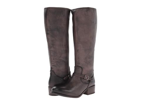 Frye - Lynn Strap Tall (Grey Soft Antique) Women's Zip Boots