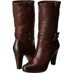 Frye Marissa Slouch (Dark Brown Soft Vintage Leather) Footwear