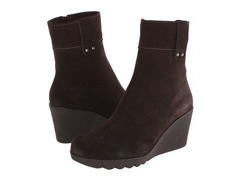 La Canadienne - Becket (Espresso Suede) Women