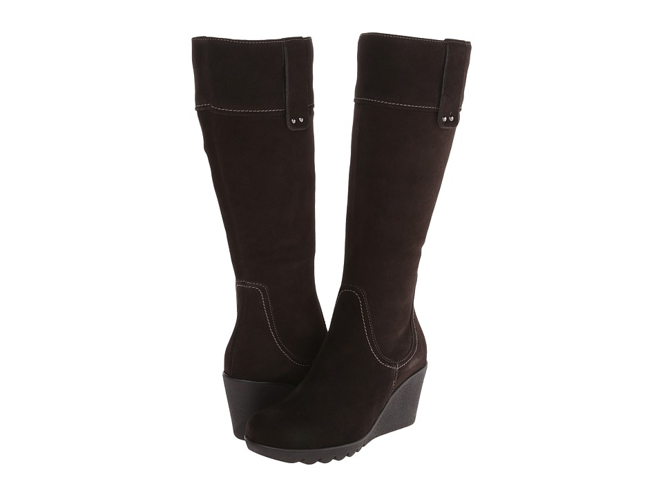 La Canadienne - Berkley (Espresso Suede) Women's Boots