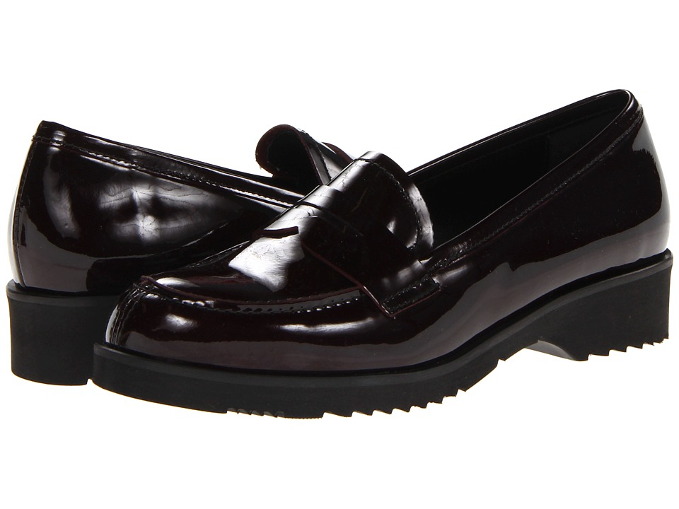 La Canadienne - Halle (Wine Vernice) Women's Slip on Shoes