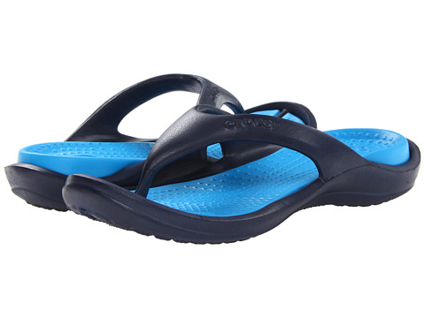 f5265cd2450c56 UPC 883503971394 product image for Crocs Athens (Navy Ocean) Sandals