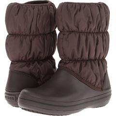 Crocs Winter Puff Boot (Espresso Espresso) Footwear