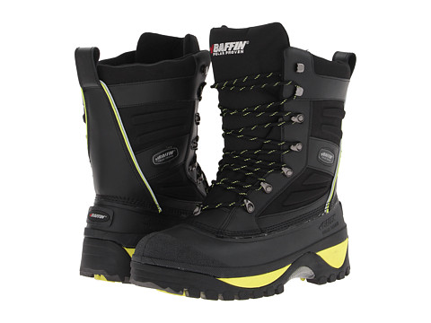 Baffin - Crossfire (Black/Floro Green) Men's Cold Weather Boots