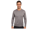 Hot Chillys Peach Solid Crewneck (Charcoal)