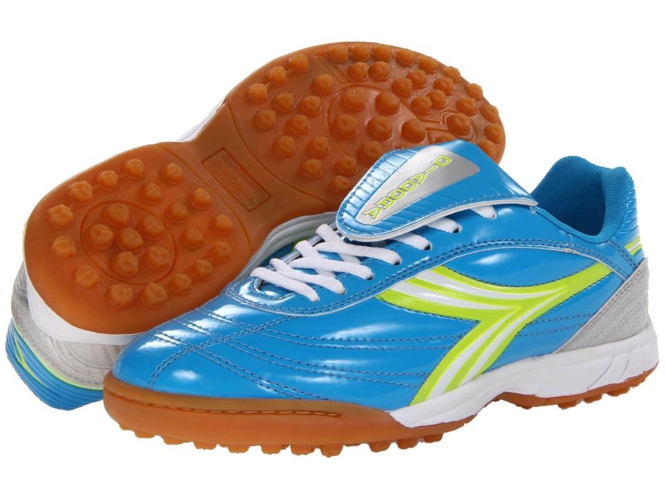 Diadora - Evento ID (Blue/Green/Silver) Women's Soccer Shoes