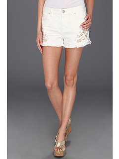 SALE! $36.99 - Save $51 on Free People Tulum Embroidered Short (Trash White Wash) Apparel - 57.97% OFF $88.00
