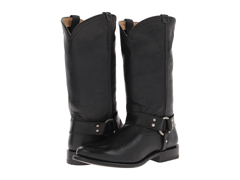 Frye - Wyatt Harness (Black Antique Pull Up) Women's Boots