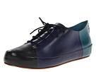 10 Crosby Derek Lam - Jo (Black/Navy/Petrol Vacchetta) - Footwear
