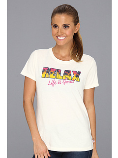 SALE! $14.99 - Save $17 on Life is good Relax Creamy Tee (Simply Ivory) Apparel - 53.16% OFF $32.00