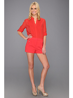 SALE! $161.99 - Save $86 on BCBGMAXAZRIA Gisele Romper (Poppy) Apparel - 34.68% OFF $248.00