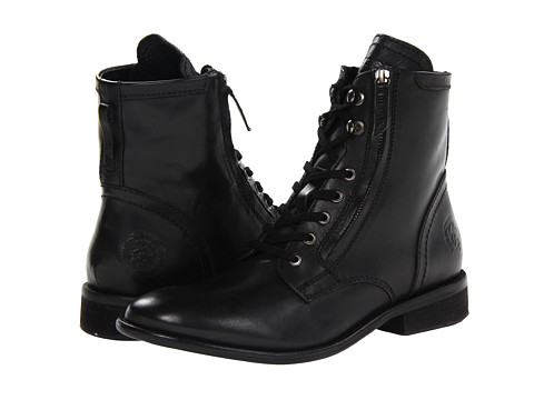 Diesel - Miliboot Pataboot The Pit (Black) Men's Dress Lace-up Boots