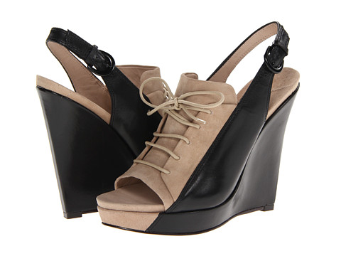 10 Crosby Derek Lam - Gi (Tan Suede/Black Eco Leather) Women
