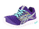 Reebok - RealFlex Scream 3.0 (Ultra Violet/Emerald Sea/White/Neon Yellow)