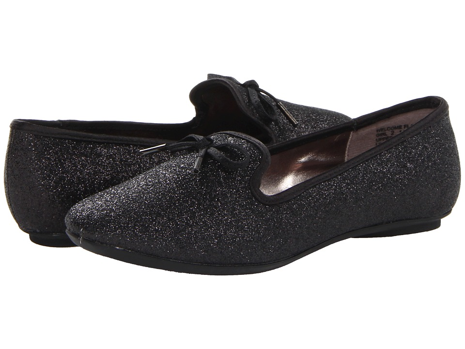 Kenneth Cole Reaction Kids Welcome Flat Girls Shoes (Black)