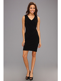 SALE! $71.99 - Save $56 on Calvin Klein Textured Stripe Sheath Dress (Black) Apparel - 43.76% OFF $128.00