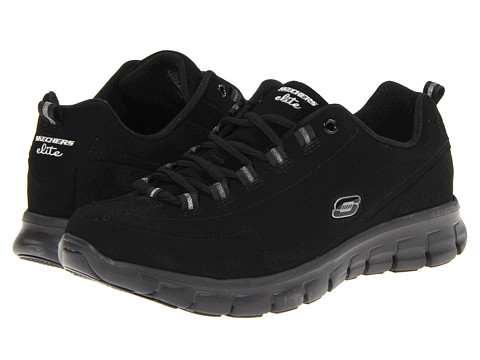 SKECHERS - Trend Setter (Black/Black) Women's Lace up casual Shoes