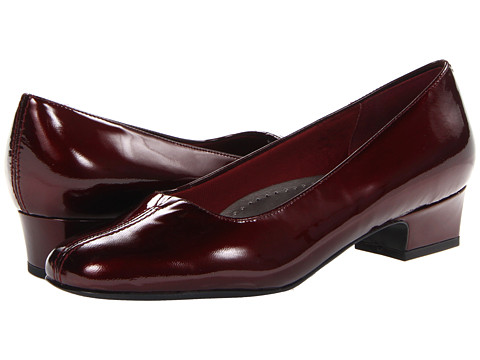 Trotters - Doris Pearl (Ruby Red Pearlized Patent Leather) Women's 1-2 inch heel Shoes