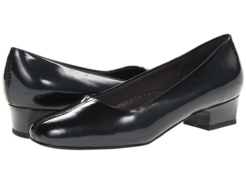 Trotters - Doris Pearl (Gunmetal Pearlized Patent Leather) Women's 1-2 inch heel Shoes