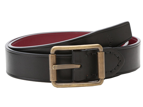 Cole Haan - Work To Play (Black/Tawny Port) Men's Belts