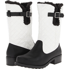 Trotters Blizzard III (Black White Waxy Faux Leather) Footwear
