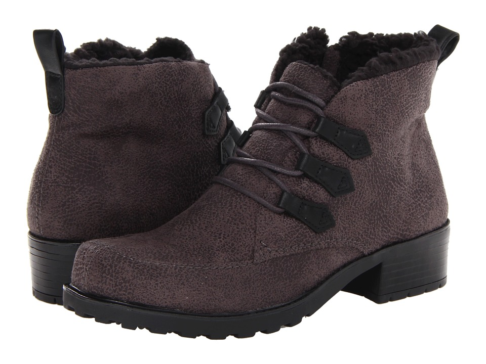 Trotters - Snowflakes III (Grey) Women's Lace-up Boots