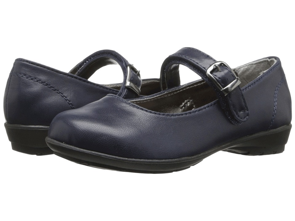 Kenneth Cole Reaction Kids - Fly School Jr (Toddler/Little Kid) (Navy) Girls Shoes
