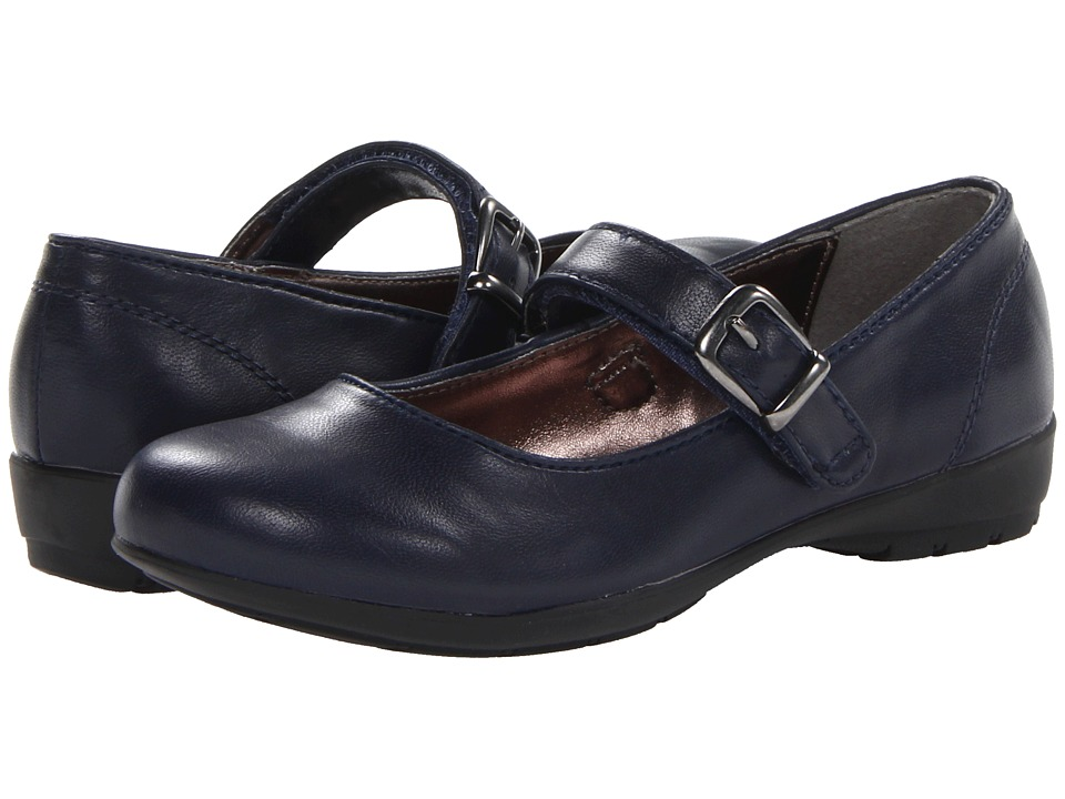 Kenneth Cole Reaction Kids Fly School Girls Shoes (Navy)