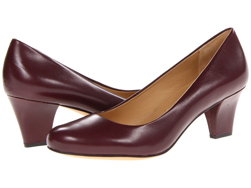 Trotters - Penelope (Merlot Glazed Kid Leather) High Heels