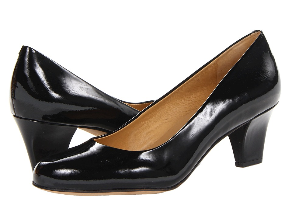 Trotters - Penelope (Black Patent Leather) High Heels
