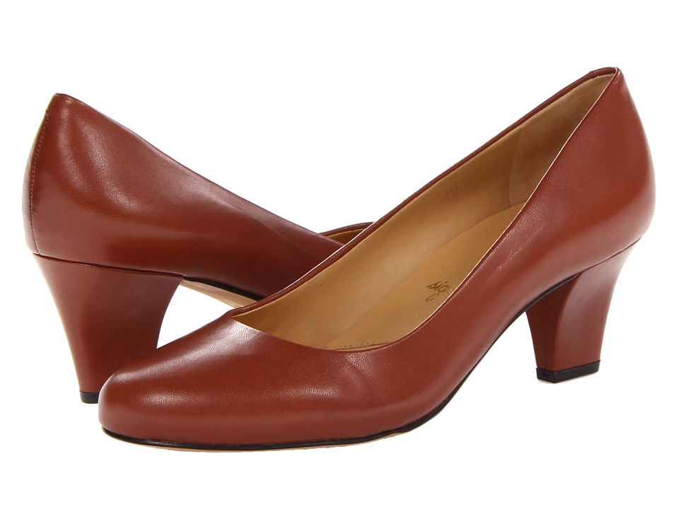 Trotters - Penelope (Tobacco Glazed Kid Leather) High Heels