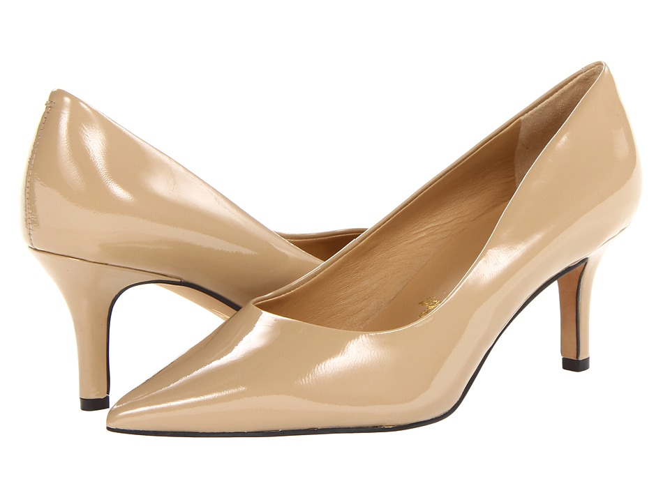 Trotters - Alexa (Nude Patent Leather) High Heels