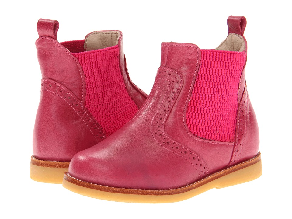 Elephantito - Bootie (Toddler/Little Kid/Big Kid) (Bright Pink) Girl's Shoes