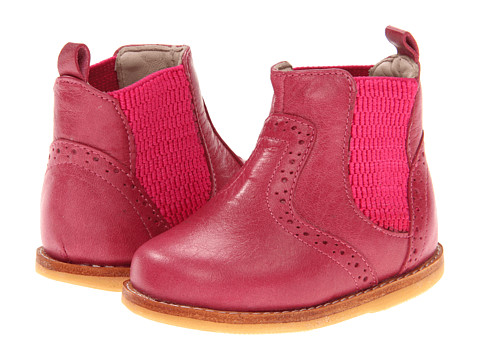 Elephantito - Bootie (Toddler) (Bright Pink) Girl's Shoes