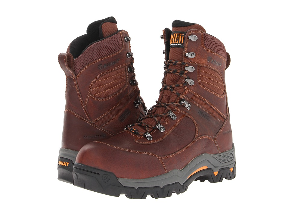 Ariat WorkHogtm Trek 8 H20 Insulated Composite Toe (Oiled Brown) Men