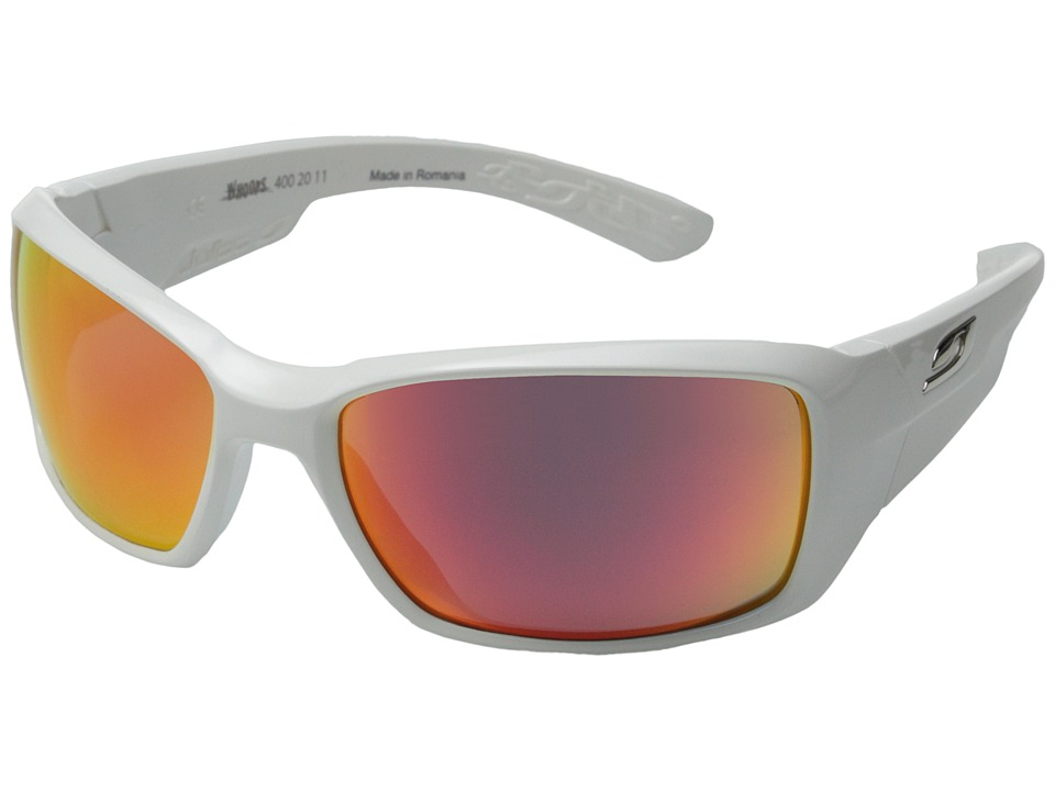 Julbo Eyewear - Julbo Whoops Performance Sunglass (White) Fashion Sunglasses