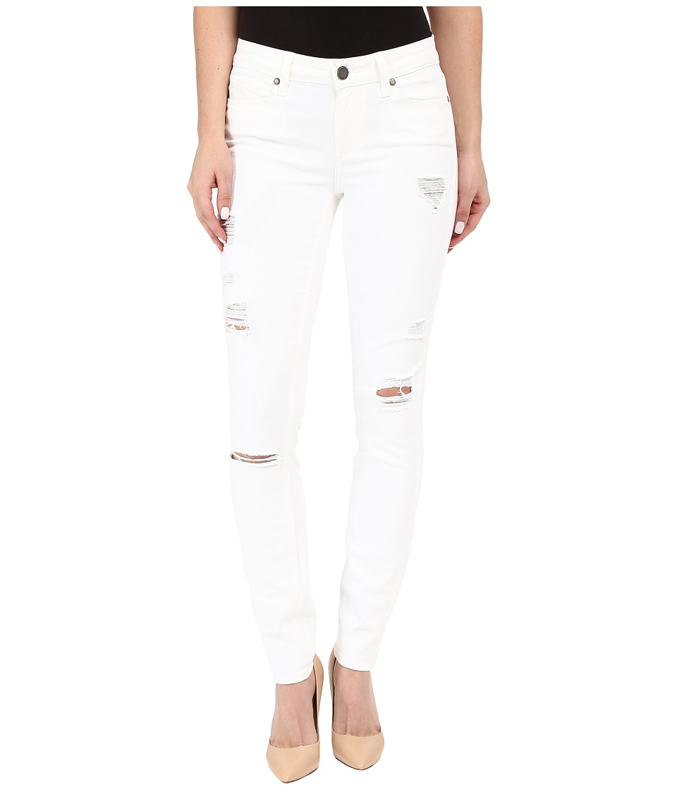 Paige Verdugo Ultra Skinny in Optic White Destructed (Optic White) Women's Jeans