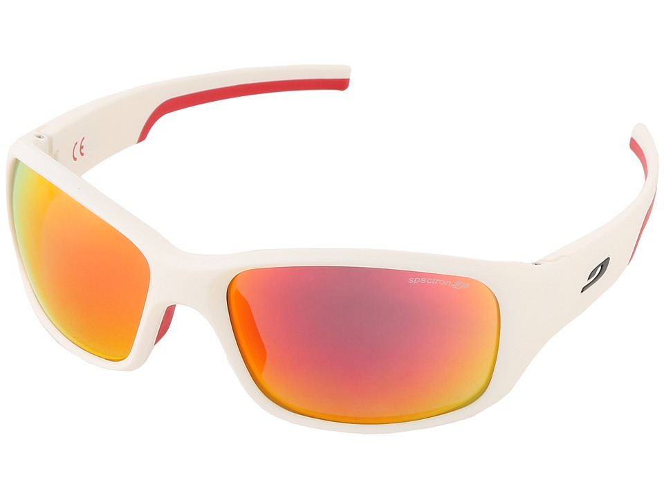 Julbo Eyewear - Julbo Stunt Performance Sunglass (Matt White/Red) Fashion Sunglasses