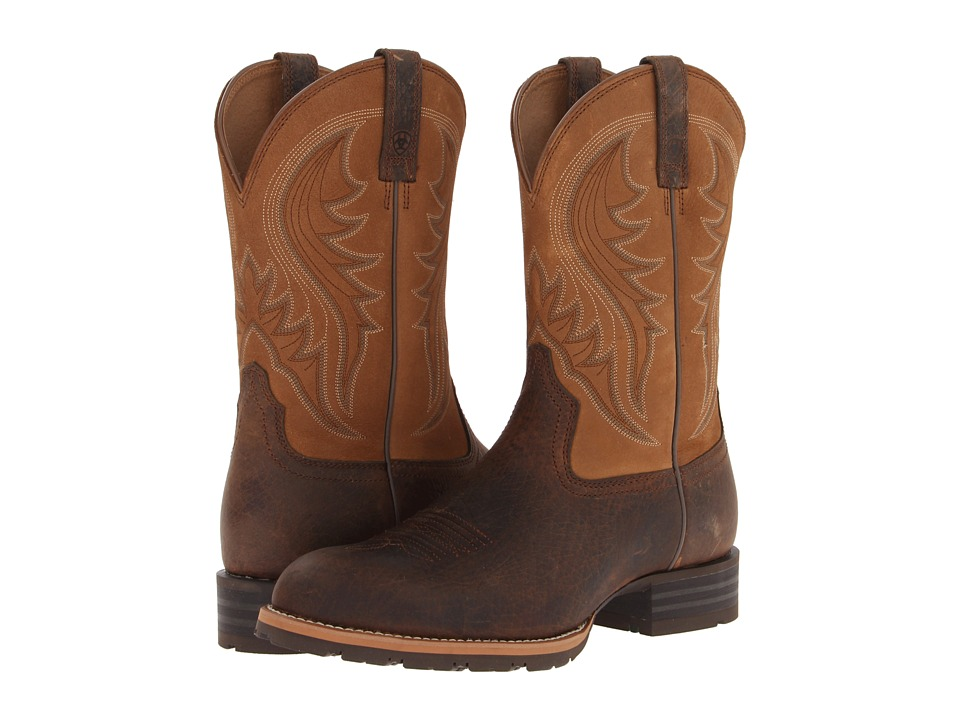 Ariat Hybrid Rancher (Earth/Dry Well Tan) Cowboy Boots