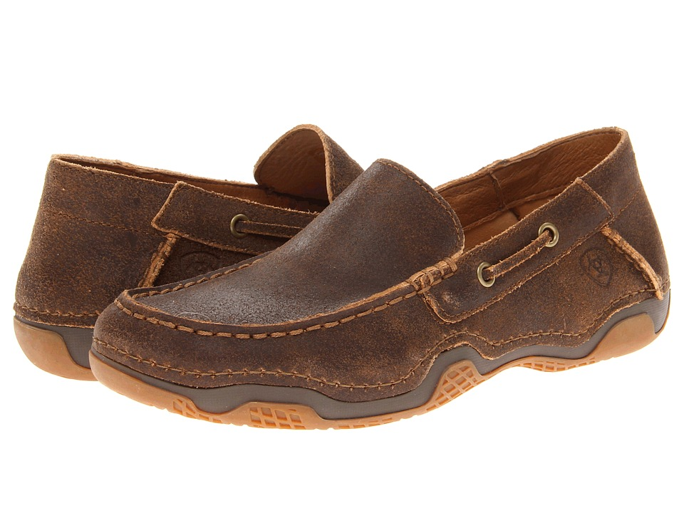 Ariat - Gleeson (Weathered Wood) Men's Slip on Shoes
