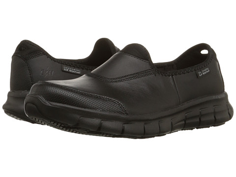 SKECHERS Work - Sure Track (Black) Women