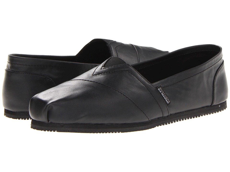 SKECHERS Work - Kincaid (Black) Women's Slip on Shoes