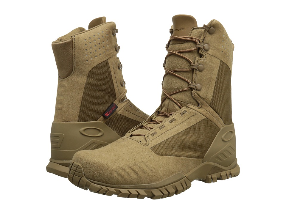 Oakley - SI-8 Lightweight Military Boot 8 Inch (Coyote) Men