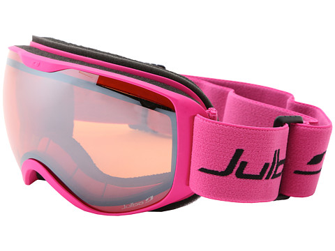 Julbo Eyewear - Pioneer Polarized (Fuchsia/Orange Lens) Goggles