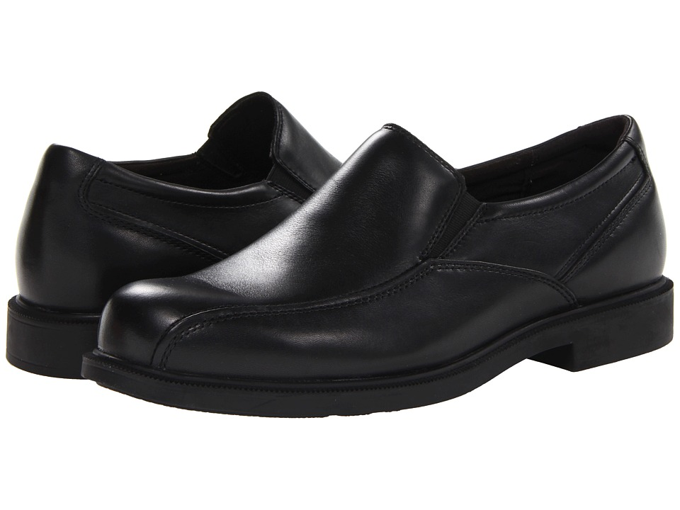 Dunham - Jaffrey Run Off Waterproof Slip On (Black) Men's Shoes