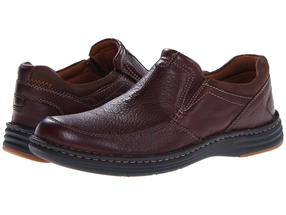 Dunham - REVChase (Dark Brown) Men's Slip on Shoes